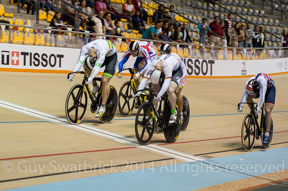 UCI Track World Cup Series 2014-15 Round I - Guadalajara, Mexico - Saturday Finals